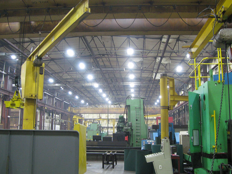 Metal Halide to T5 indusrial lighting upgrade, Cleveland & Akron, Ohio