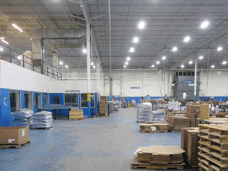 Energy efficient t5, t8 and fluorescent relamp lighting projects