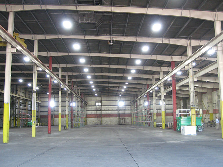 Metal Halide to T5 lighting conversion for Manufacturer, Cleveland & Akron, Ohio