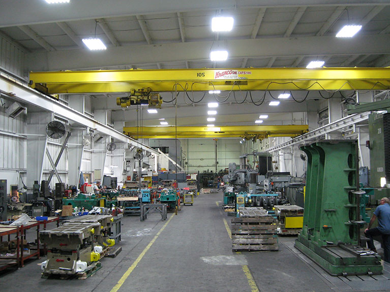 Metal Halide to T5 industrial lighting upgrade, Cleveland & Akron, Ohio