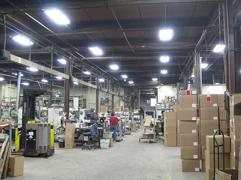 Metal Halide to T8 plant lighting upgrade, Cleveland & Akron, Ohio