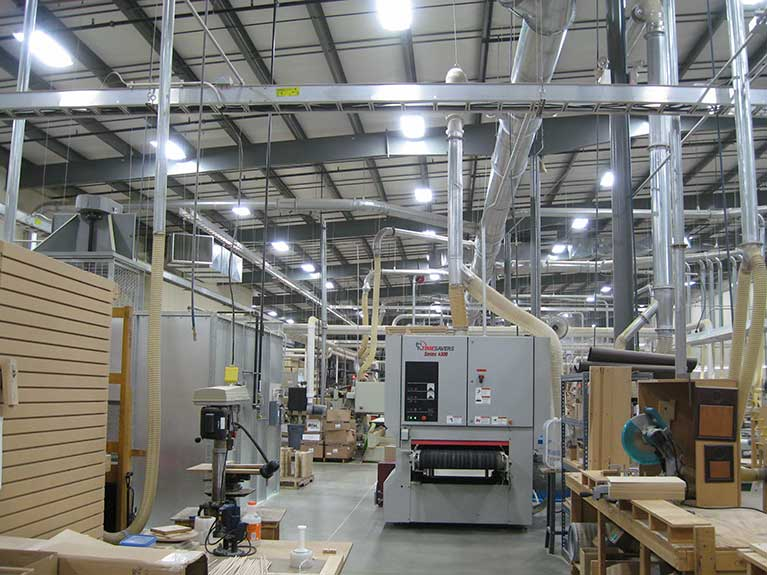 Metal Halide to T5 Manufacturing lighting upgrade, Cleveland & Akron, Ohio