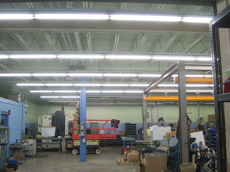 T-12 to T-8 Industrial Fluorescents, Cleveland & Akron, Ohio