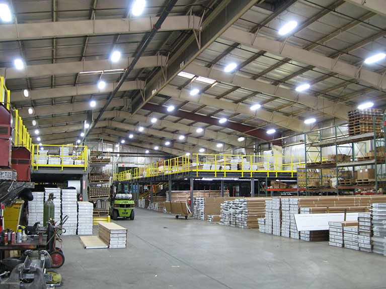 """Lighting upgrade to T5 high bays, Cleveland & Akron, Ohio"""