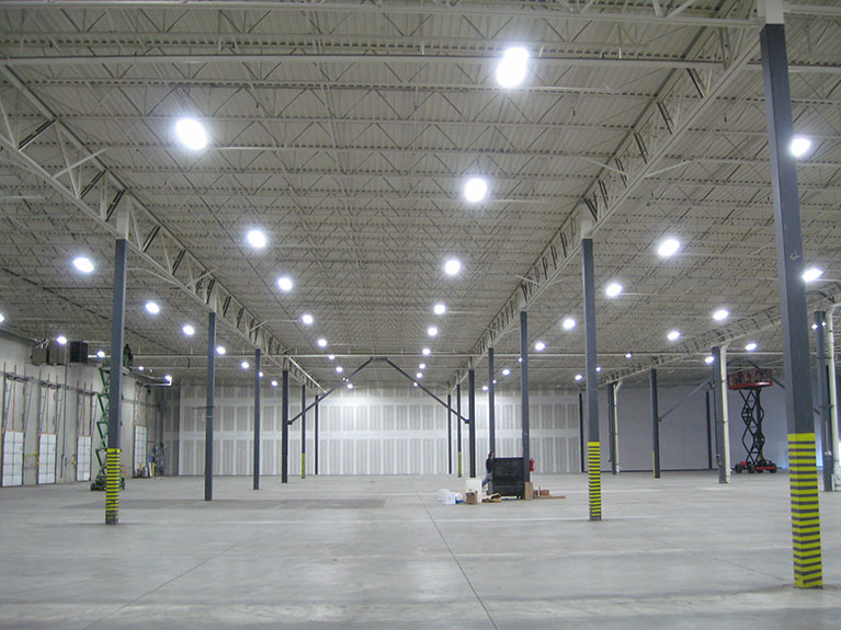 """T5 lighting retrofit from Metal Halides, Cleveland & Akron, Ohio"""