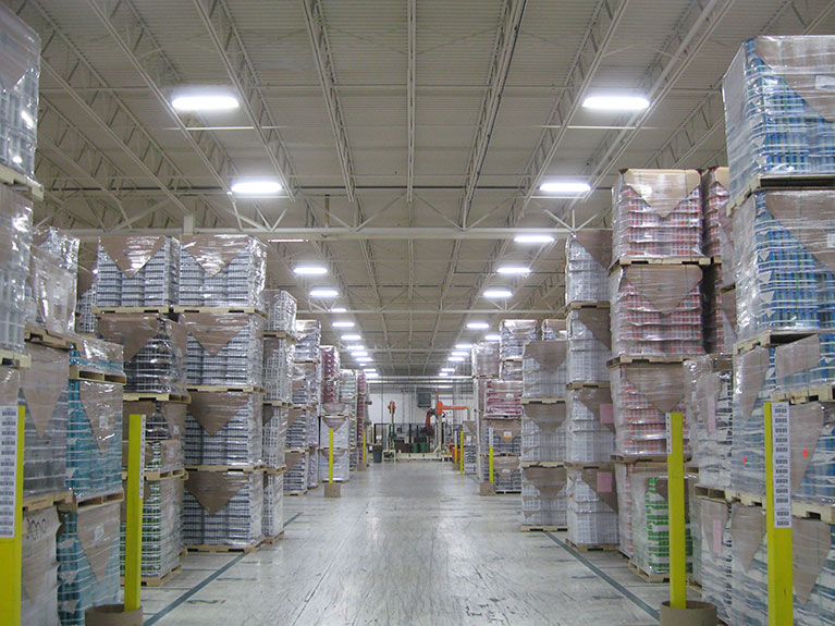 Lighting upgrade to T5 high bays, Cleveland & Akron, Ohio