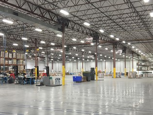 LED lighting for Manufacturing Company
