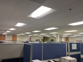 LED office troffers
