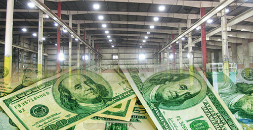 Save money on warehouse and factory lighting